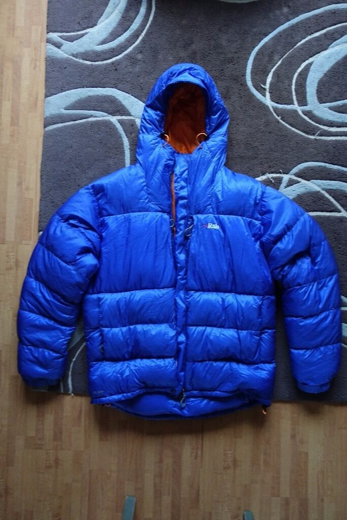 RAB Andes 800 down jacket Size Lin Greenwich, LondonGumtree - This jacket is in perfect condition. Ive used it once for Aconcagua climbing expedition and it worked well nearly in 7000m peak. Size L as you aware parka style jacket sizes are oversize. I kept it all the time in separate cotton bag as my down...