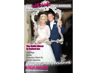 Premium Selfie Mirror Photobooth Hire Service for your wedding or event