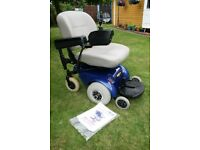 Pride Mini Jazzy 1103 mobility chair / power chair *part exchange welcome/can deliver*
