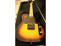 Fender Telecaster (Mexican+Hot Rails) in Hard Case