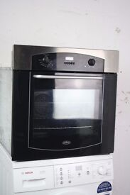 Belling Built-In Single Oven/Cooker Digital Display Excellent Condition 12 Month Warranty