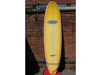 7ft 4 Ocean Magic Minimal Surfboard by Nigel Semmens plus Day Bag & Leash