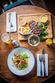 Chef de partie required for popular pubs in Dulwich and Clapham