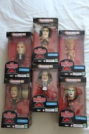 Rocky Horror Picture Show Headliners XL Collectables. Rare complete set