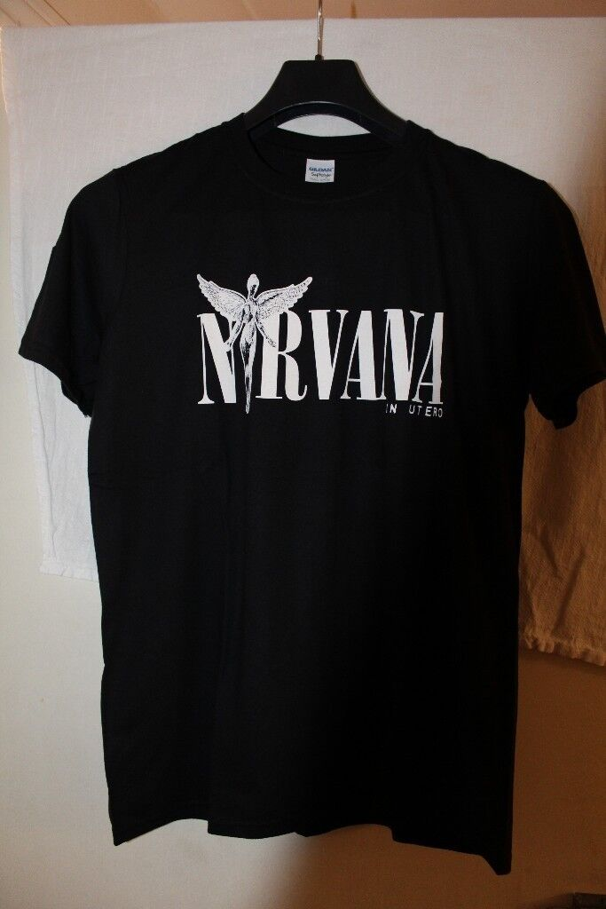 4ee29818 Nirvana In Utero T-Shirt Black, Size M | in Mile End, London | Gumtree