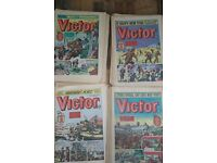 """UK COMIC THE GREAT """"VICTOR"""" VARIOUS DATES MORE FOR SALE WARLORD BEANO DANDY ETC SEE PHOTOS"""
