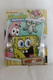 Spongebob Square pants hard back Annual 2011 book comic