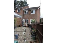 Unfurnished two bedroomed house in Bagshot, two minute drive of the Bagshot Interchange of the M3.