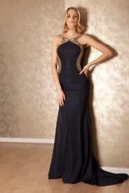 Bnwt Pia Michi prom gown in black size 8