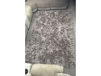 Shaggy Rug In mint Condition
