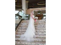 Stunning House of Nicholas Wedding Dress