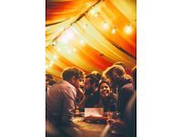 Bar staff required for Green Man's Courtyard - Beer & Cider Festival at Kings Cross , May