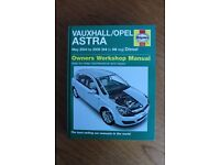 Haynes Workshop Manual for Vauxhall/Opel Astra Diesel