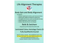 Life Alignment Therapies: Body Spin, Body Alignment Technique, Reiki & Seichem