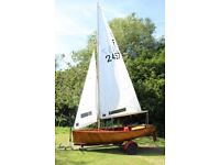 National Firefly Mk1 Sailing Dinghy for Sale F2457