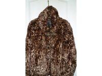 Ladies Imitation Fur jacket size 16
