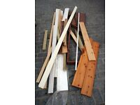 FREE Assorted timber offcuts