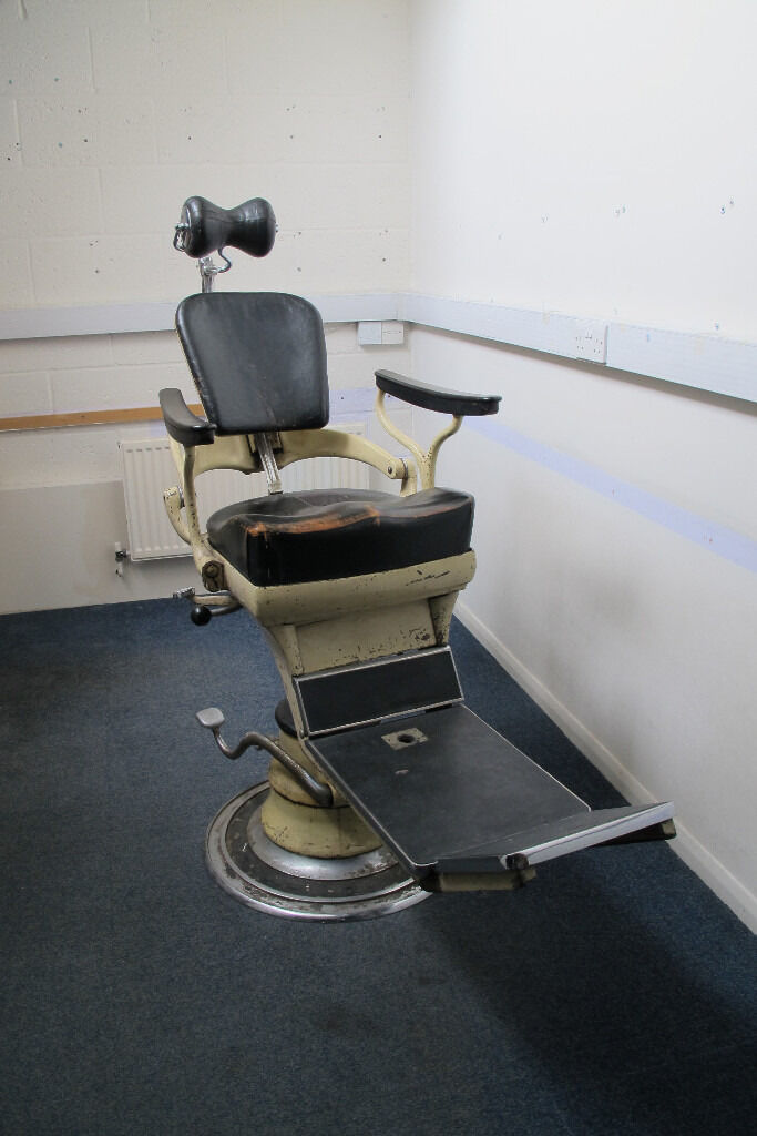Vintage Sterling Dentists Chair For Sale In Finchley