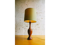 VINTAGE RETRO MID CENTURY TEAK LAMP