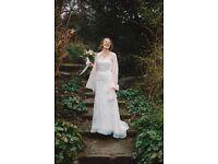 Wedding Dress: 'Snow' by Annasul Y & Lusan Mandongus. Size 12, worn once.