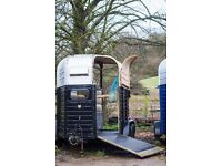 Rice horse trailer with new floor