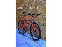 SALE ! GOKU cycles Steel Frame Single speed road bike TRACK bike fixed gear bike racing bike q5