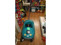 Little Tikes ride in car with parent handle