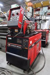 Lincoln 455M Welders with Wire Feeders