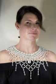 Bespoke Handmade Shawl Necklace