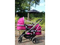 iCandy Peach Blosson 2 Twin Pushchair