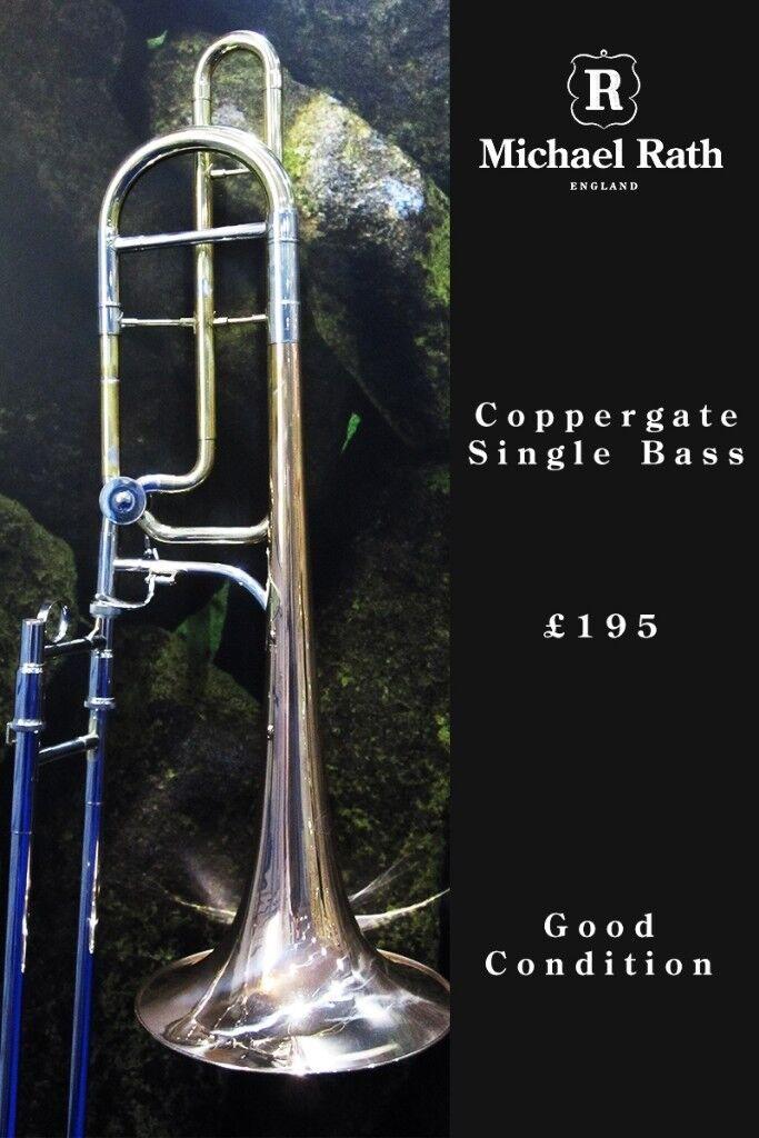 Coppergate Bb/F Single Bass Trombone | in Honley, West Yorkshire | Gumtree