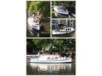 36ft Rare and Unique Dutch Barge Model