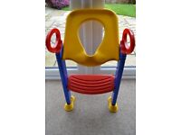 K&D KETTER TOILET TRAINER - HELPS YOUR CHILD BECOME INDEPENDENT WHILST TRAINING EXCELLENT CONDITION