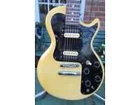 1980 Gibson Sonex Custom & case, top of the range, collectors gtr.