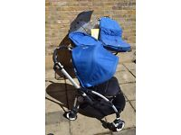 Bugaboo Bee Plus short strap with lots of accessories