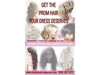 PROM HAIR AND MAKEUP PACKAGE DEAL