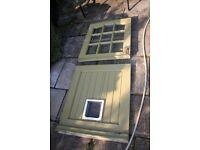 Hardwood Stable Style Door