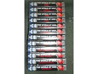 The World at War Full collection of VHS videos Volume 1 - 12 for FREE!!