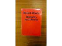 Rafael Moneo: Remarks on 21 Works, The Monacelli Press (2010) Hardcover