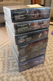 Warhammer 40,000 6 unopened kits to build