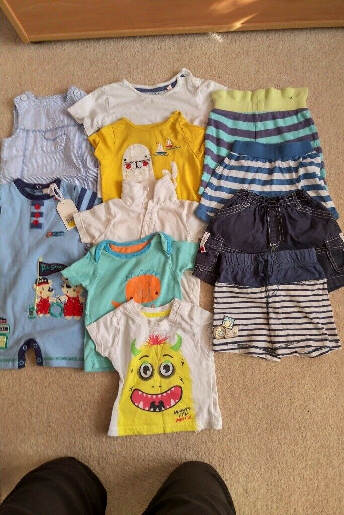 70a3bfcbf Bundle of boys 3-6months summer clothes | in Highwoods, Essex ...