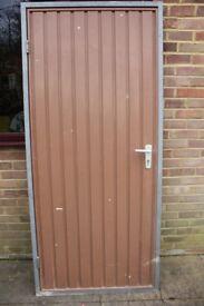 Hormann Garage Entrance Door