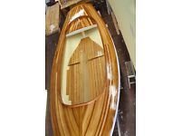 21' South Bay Catboat sailing boat with trailer. New build yacht. Project.