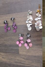 Clip on earrings. Great designs. £1.50 per pair, will sell separately. Collect from Torquay or can p