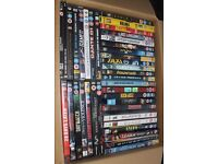 Collection of 41 assorted films on DVD