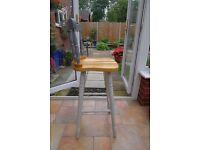 Wooden Kitchen / Bar stool