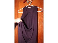 Reserved purple sleeveless top (size S)