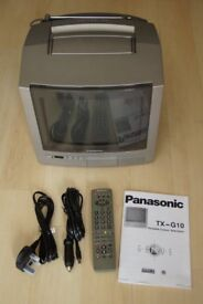 Panasonic TX-GT10 portable colour TV (analogue) - ideal for camping applications