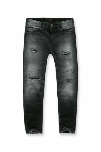 New Jordan Craig KIDS HAWTHORNE DENIM (BLACK SHADOW) Destroyed Size 2 Brand New!
