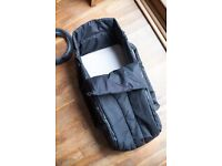 Phil & Teds Dot Double Buggy with Cocoon and Rain Cover